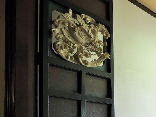 木彫の扉_旧開智学校校舎