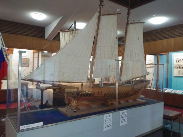 デアナ号模型_造船郷土資料博物館