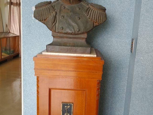 プチャーチン提督 銅像_造船郷土資料博物館