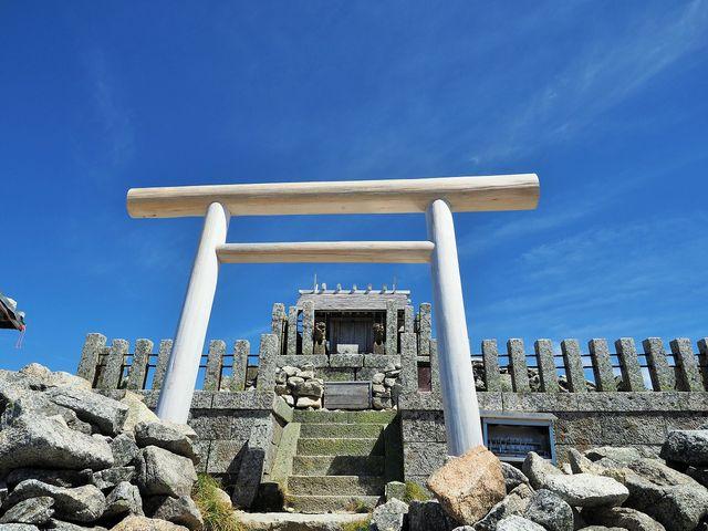 木曽駒ヶ嶽神社 奥社_駒ヶ岳(木曽駒ケ岳)