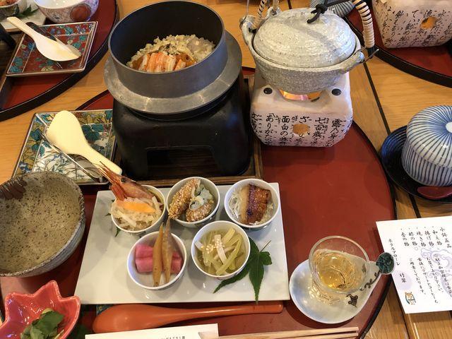 ボリュームがある上にこの後食後のデザートもついていました!_加賀料理ばん亭
