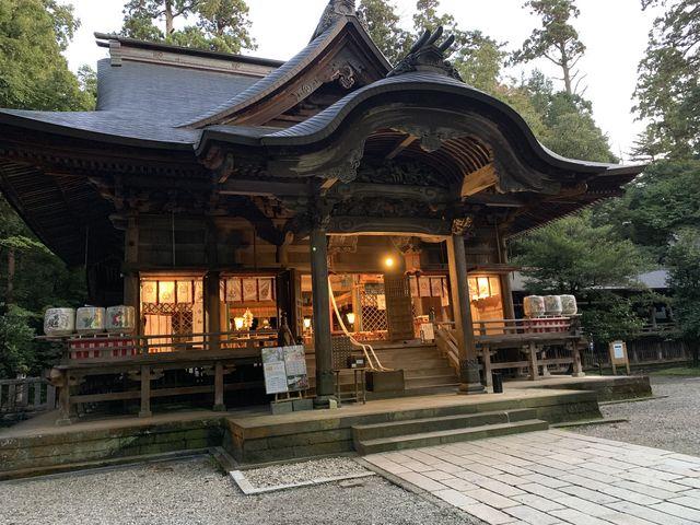 青海神社_加茂山公園の紅葉