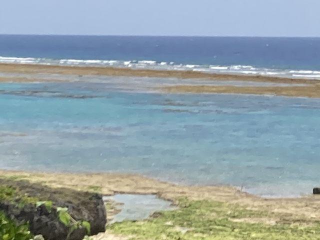 干潮時に全景を休憩所から撮影_仲本海岸