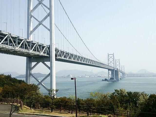 橋が美しいです♪_瀬戸大橋