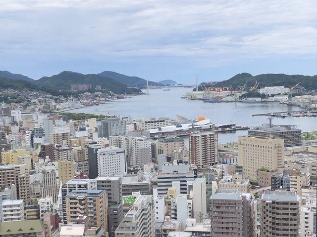 長崎港が一望できます_ホテル長崎