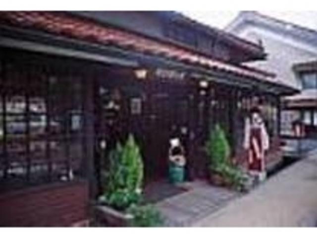 殿町通り、カトリック教会前にある文芸茶房_沙羅の木