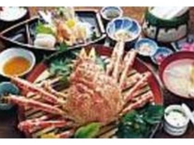 カニの甘さが口中に広がる『高足ガニ定食』_お食事処かにや 戸田本店