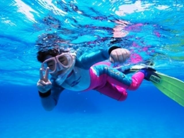 小さなお子様も安心_clover diving service