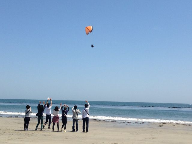 松島熱気球パラグライダー体験