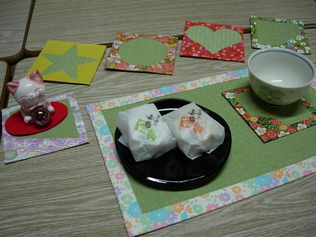 コースター&ティーマット_榊原タタミ店