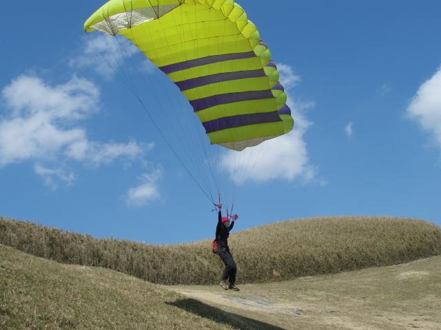 空を飛んでみたい!をかなえます_パラフィールド