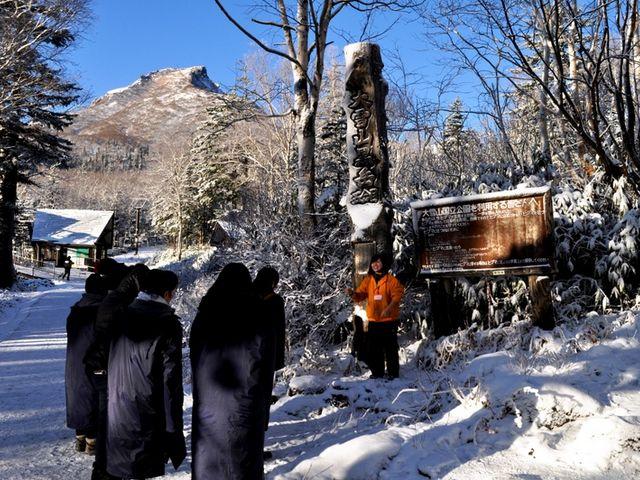 10月のツアーは雪が降ることも!_大雪山層雲峡・黒岳ロープウェイ