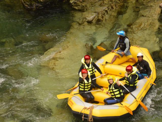 利根川の水は澄んでいてきれいです。_パノラマアドヴェンチャーズ