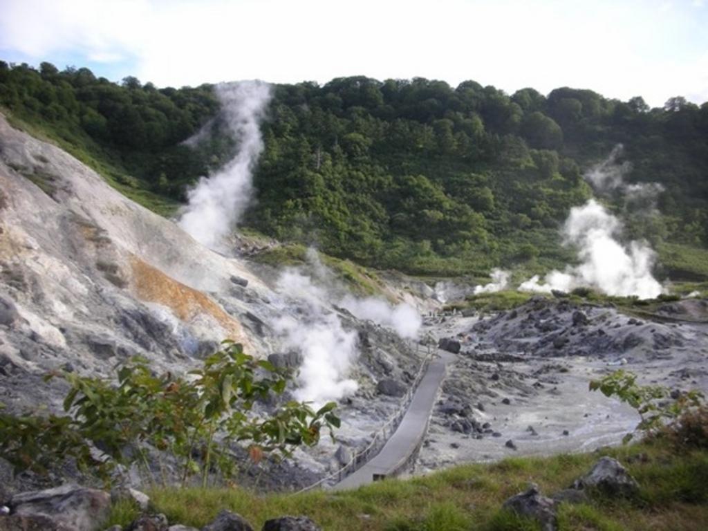 玉川温泉大噴湯