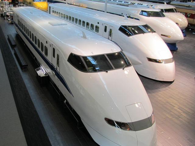 歴代新幹線_リニア・鉄道館
