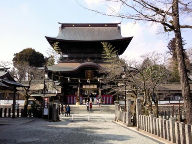 日本三大楼門_阿蘇神社