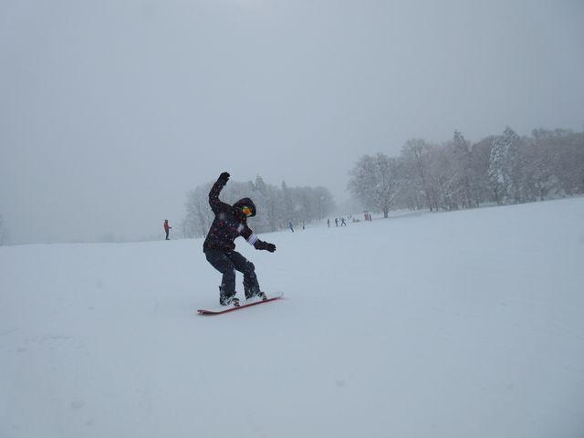 上ノ平ゲレンデから続く パラダイスゲレンデ_野沢温泉スキー場