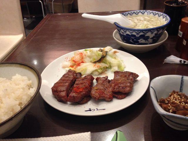 お肉が美味しい_牛たん炭焼 利久 イオンレイクタウン店