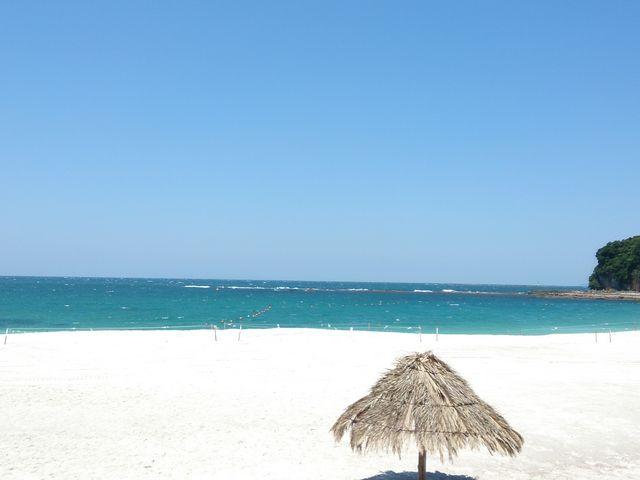 ついてそうそうの写真_白良浜