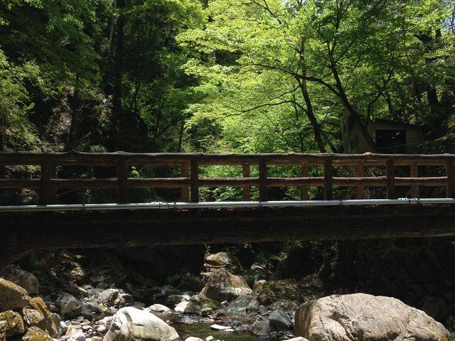 インスタ映えする東京都内日原鍾乳洞周辺の大自然