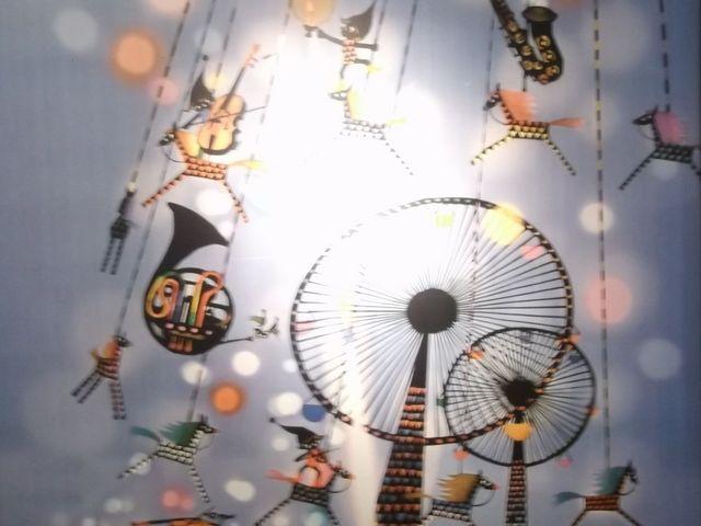 【世界の影絵・きり絵・ガラス・オルゴール美術館】入り口の、素敵な影絵_世界の影絵・きり絵・ガラス・オルゴール美術館