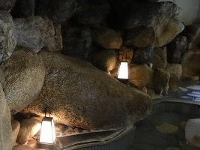はおっきな岩がンゴロン・ンゴロン_鬼岩温泉