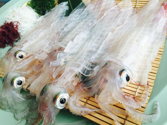 この日食べたイカ月の定食。3000円前後/1人。お高めですが大満足行く内容!_呼子 海舟 本店