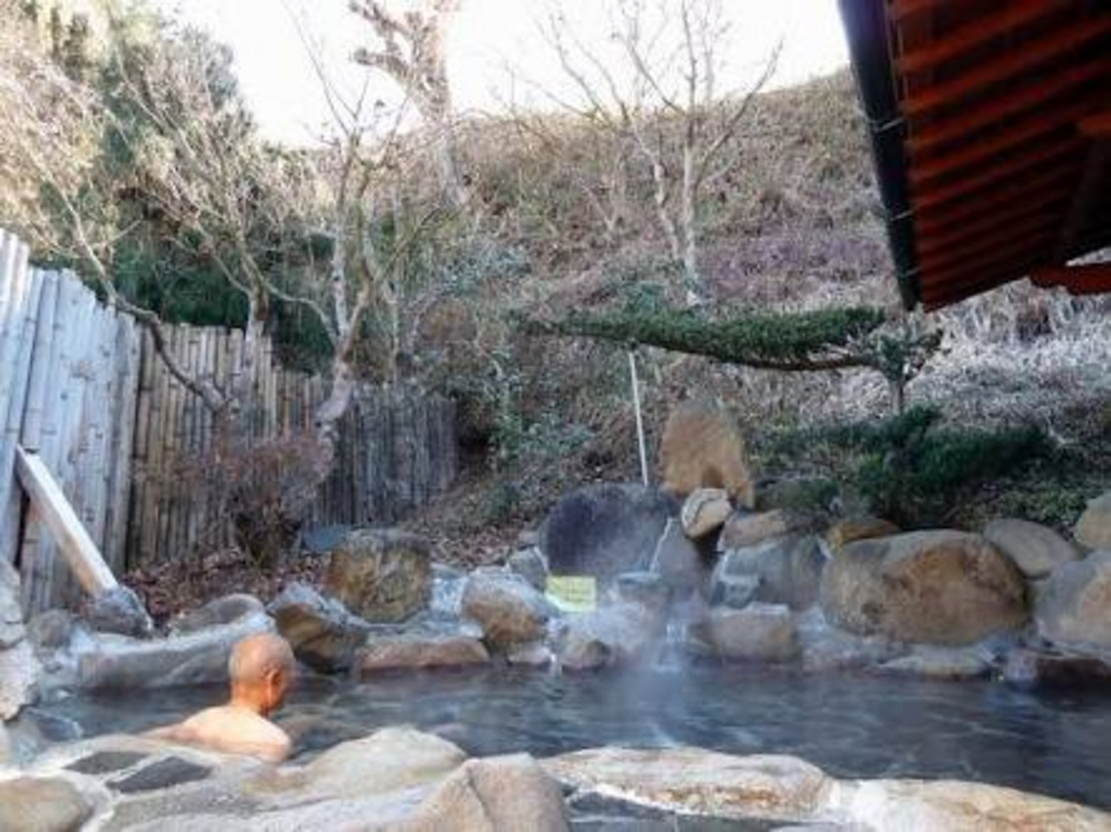 月居温泉滝見の湯