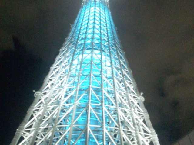 夜のスカイツリー_東京スカイツリー