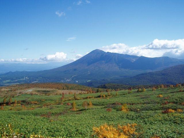 アスピーテラインから見える岩手山_八幡平