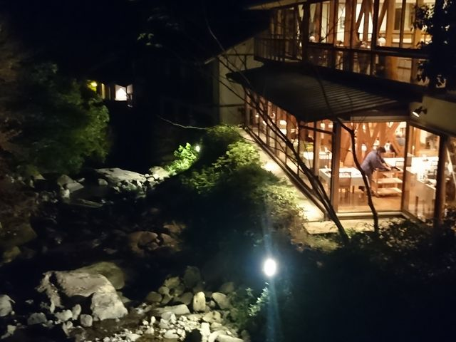 川沿いのお宿 とても静かです_大正屋椎葉山荘