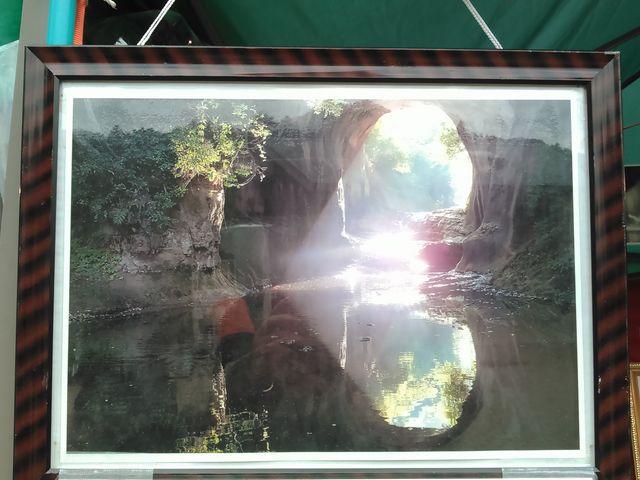 朝7時ならハート型が撮れるそうです_濃溝の滝