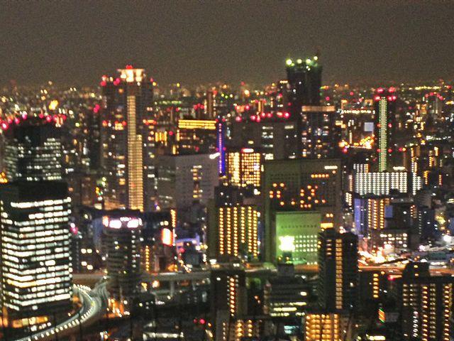 夜景がきれい_梅田スカイビル・空中庭園展望台