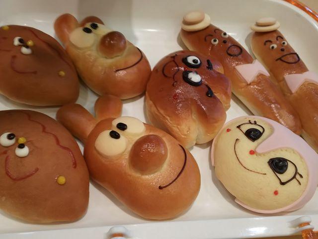 キャラクターパンです!_ジャムおじさんのパン工場