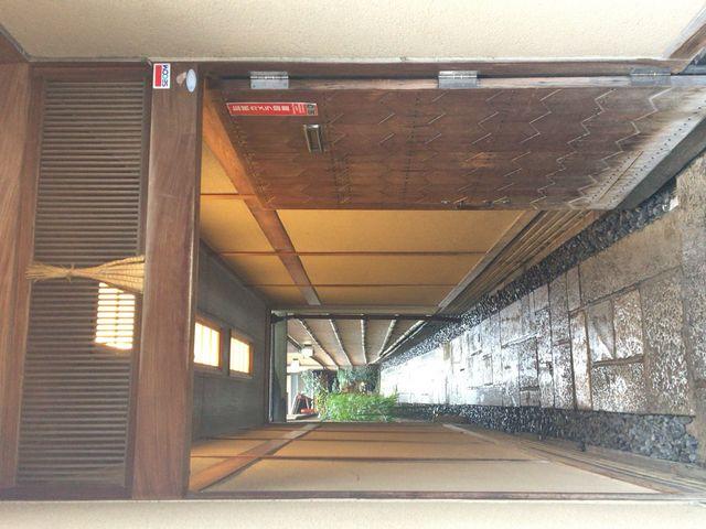 京都らしい入り口です_モリタ屋 木屋町店
