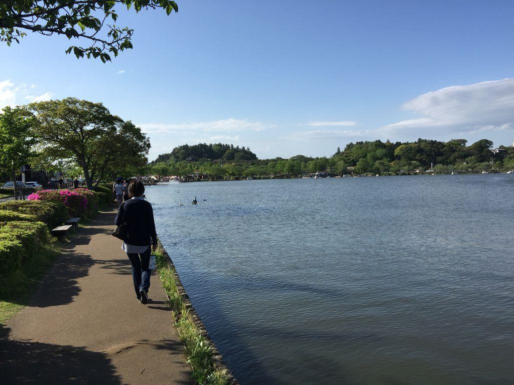 千波湖遊歩道