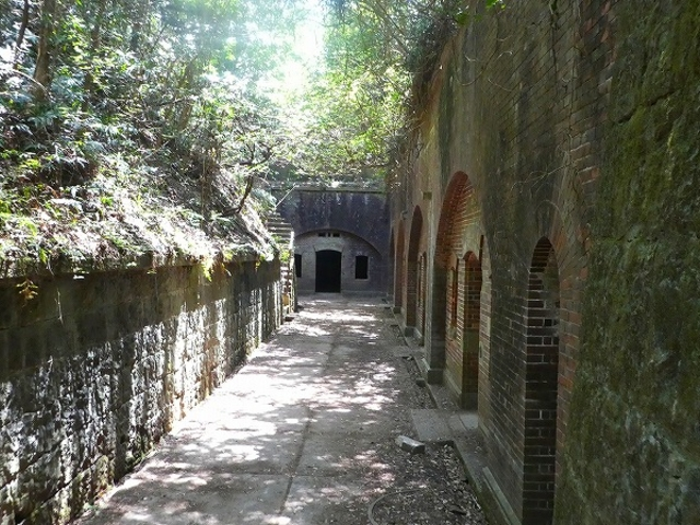 和歌山県・友ケ島 第3砲台跡 ここの雰囲気が最高でした_友ケ島