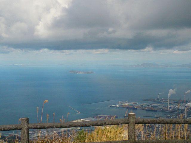翠波峰から燧灘眺望。_翠波高原