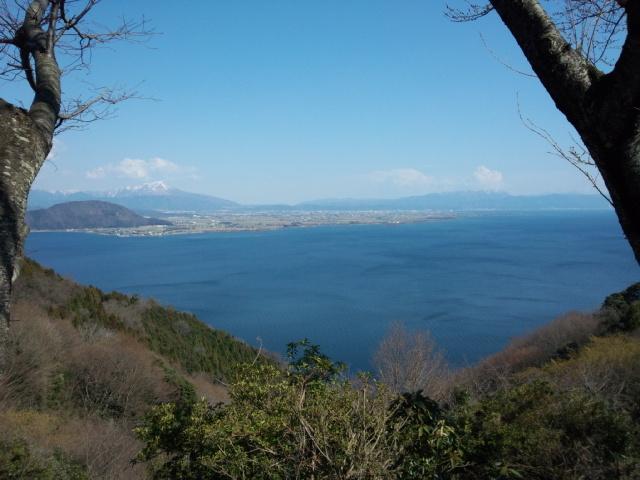 景色がいいですね_奥琵琶湖パークウェイ