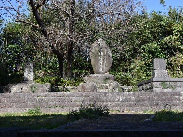 三浦按針の墓_三浦按針の墓