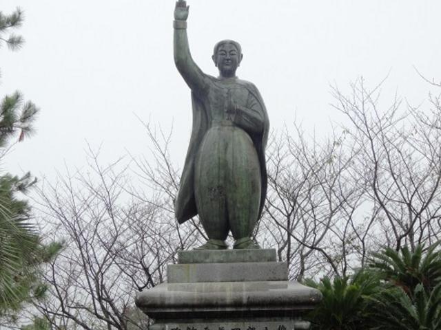 天草四郎銅像_天草四郎銅像