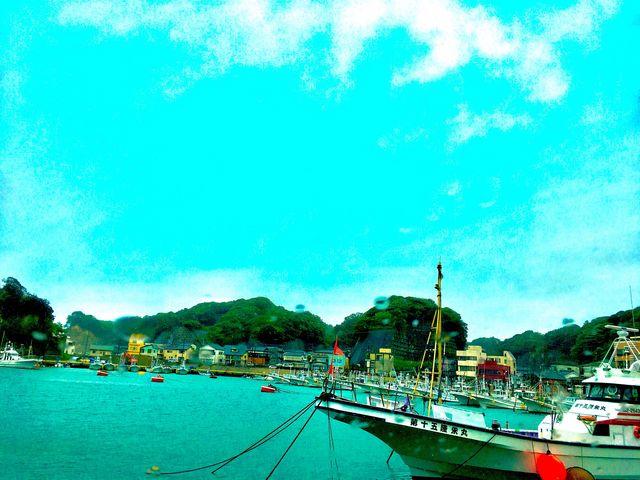平潟港です。静かで素敵なところです。_平潟港