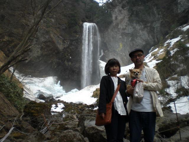 我が家のダイです_平湯大滝