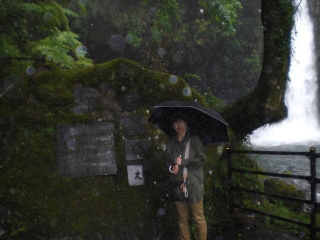 大雨でした_浄蓮の滝