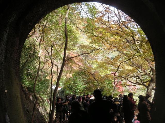 出口の景色が楽しみです。_愛岐トンネル群
