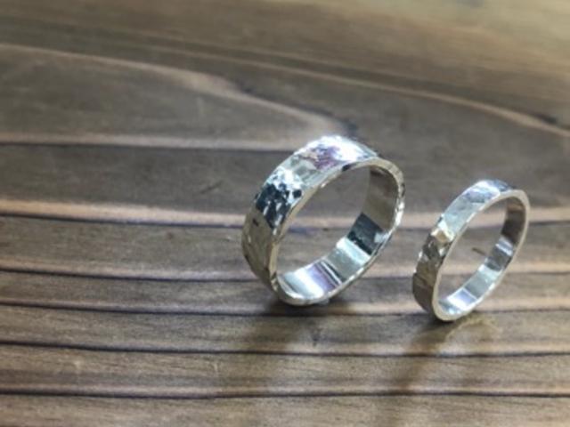 本日作成した指輪です。_彫金工房 輝風