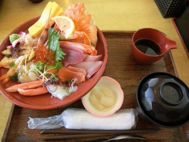 海鮮丼_鳥取砂丘会館 鳥取砂丘にいちばん近いドライブイン