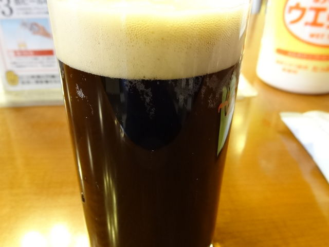 二杯目の黒ビール_アサヒビール 名古屋工場
