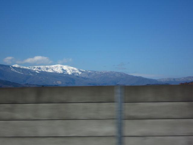 安達太良山(東北自動車道より)_安達太良山