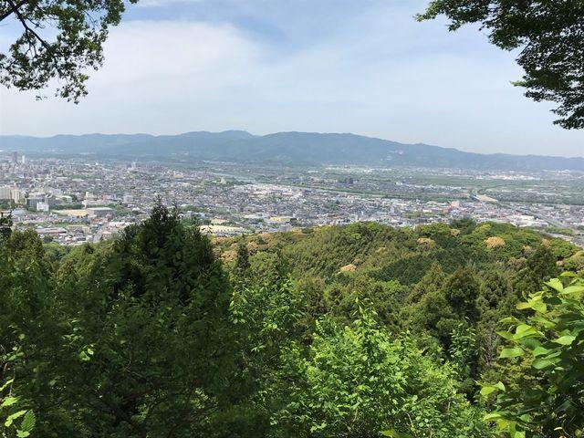 高良山より筑後平野を臨む_高良山